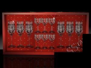 Фото Стеклоизделия, Наборы подарочные Набор с бокалами Тулип рисунок Вдохновение