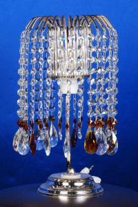 Фото Настольные лампы Настольная лампа Каскад с нарядом Журавлик чайный