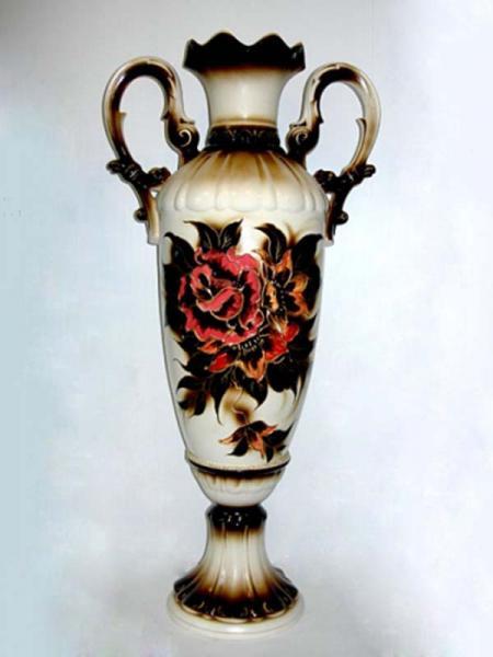 Керамическая ваза напольная Валенсия