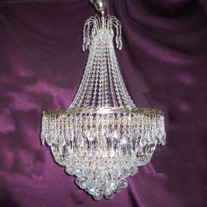 Фото Люстры больших размеров Султан с нарядом Журавлик подвес Шары