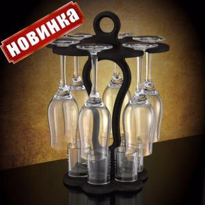 Фото Стеклоизделия, Мини Бары Барная стойка 12 предметов