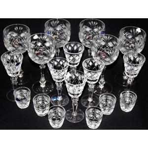 Фото Хрустальная посуда, Фужеры, бокалы, рюмки Набор праздничный хрустальный