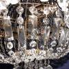 Хрустальная люстра Ромашка Шар 6 ламп купить в Гусь-Хрустальном - Люстры с ценами и фото