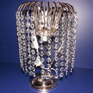 Фото Настольные лампы Хрустальная настольная лампа Каскад Оптикон