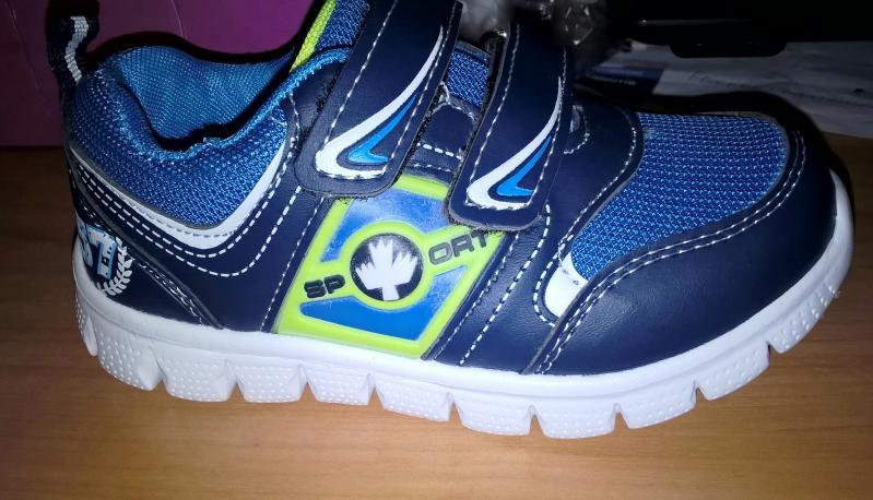 Детские кроссовки Tom синие 21-22