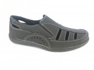 Фото Туфли мужские, Туфли мужские летние Туфли черный мужские на резинках Comford M-11