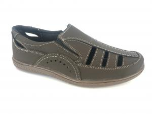 Фото Туфли мужские, Туфли мужские летние Туфли коричневый мужские на резинках Comford M-11