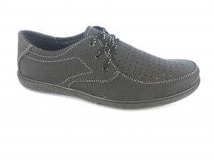 Фото Туфли мужские, Туфли мужские летние Туфли черный мужские на шнурках Comford M-9