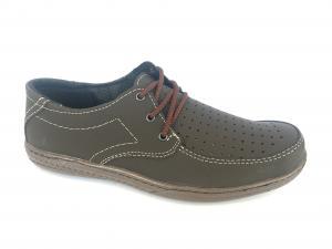 Фото Туфли мужские, Туфли мужские летние Туфли коричневый мужские на шнурках Comford M-9