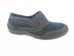 Фото Туфли мужские, Туфли мужские летние Туфли на резинках мужские синий сетка ANKOR