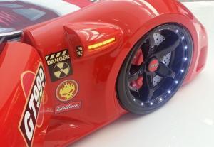 Фото КРОВАТИ-МАШИНЫ ИЗ ПЛАСТИКА Кровать-машина «GT-999 LUX», цвет красный