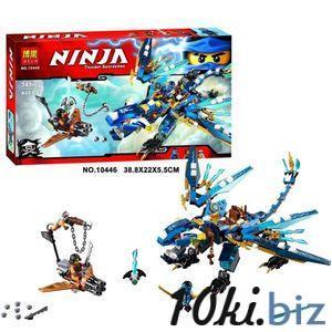 """Конструктор Bela Ninja 10446 """"Дракон стихий Джея"""" 349 деталей Наборы Ninja, NinjaGo в Украине"""