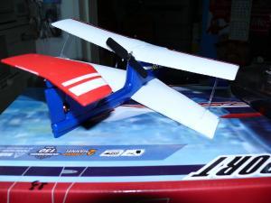 Фото Самолеты, планера. Самолет-биплан мини YT-102 размах крыла 24 см.