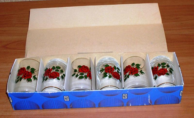 Набор стаканов (6 штук) *5516
