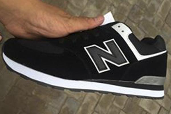 Мужские кроссовки NEW BALANCE 574 BLACK GREY