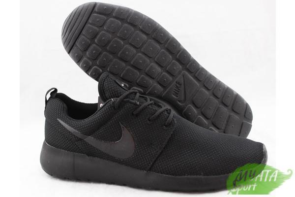 1bf60f31 Фото Кроссовки Nike Мужские кроссовки NIKE ROSHE RUN ALL BLACK. Розничная  цена