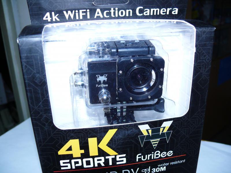 Видеокамера, экшен камера Q6FB 4K, с WiFi.