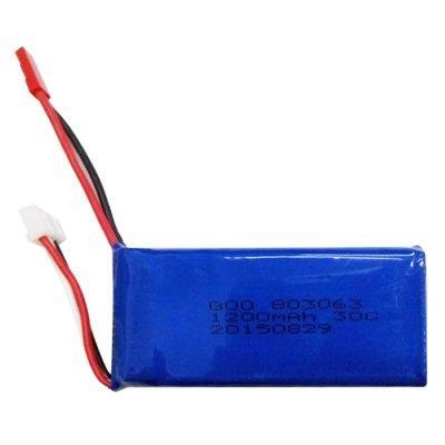 Аккумулятор 30С 7.4V 1200mAh.