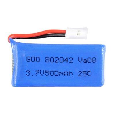 Аккумулятор 3,7 V 500 mAh.