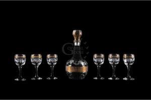 Фото Наборы из 3-8 изделий Набор: графин и рюмка. Барокко