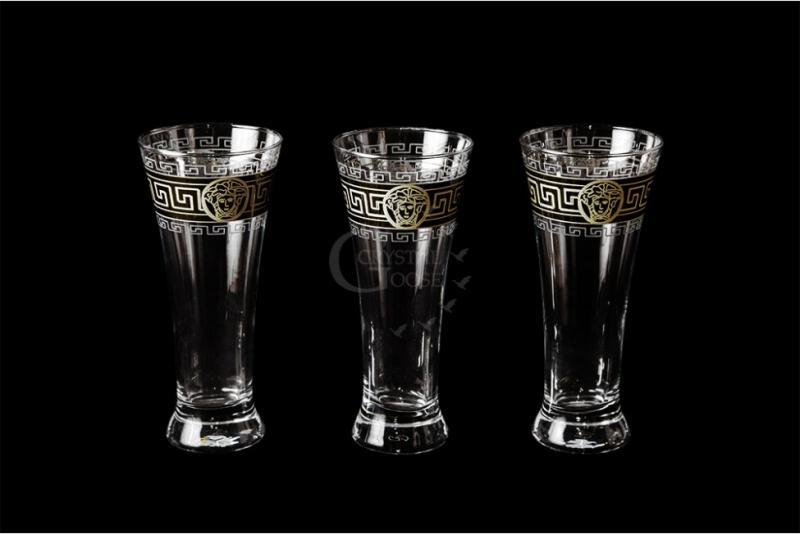 """Набор бокалов для пива """"Паб"""". Медальон"""