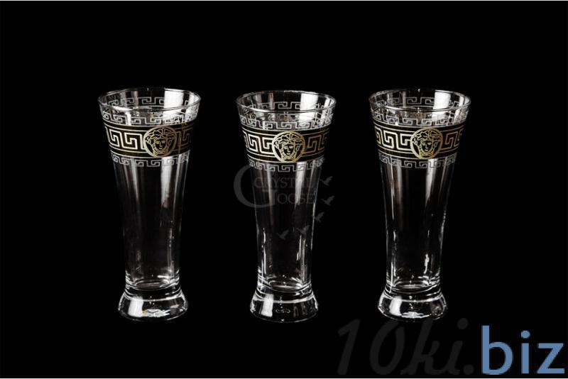 """Набор бокалов для пива """"Паб"""". Медальон купить в Гусь-Хрустальном - Наборы для бара с ценами и фото"""