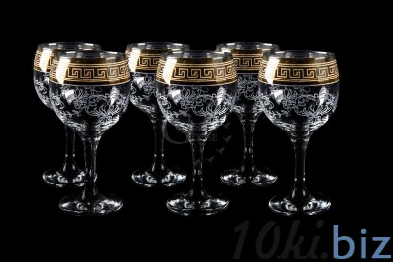 """Фужеры для вина """"Бистро"""". Барокко купить в Гусь-Хрустальном - Бокалы и фужеры с ценами и фото"""