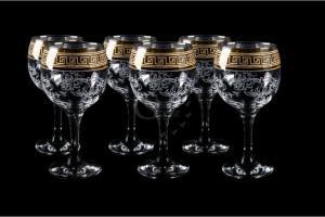 Фото Бокалы и фужеры, Декорированные, Гравировка, напыление Фужеры для вина