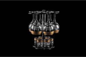 Фото Барные стойки Барная стойка из 12 предметов: Фужер, стопка. Барокко