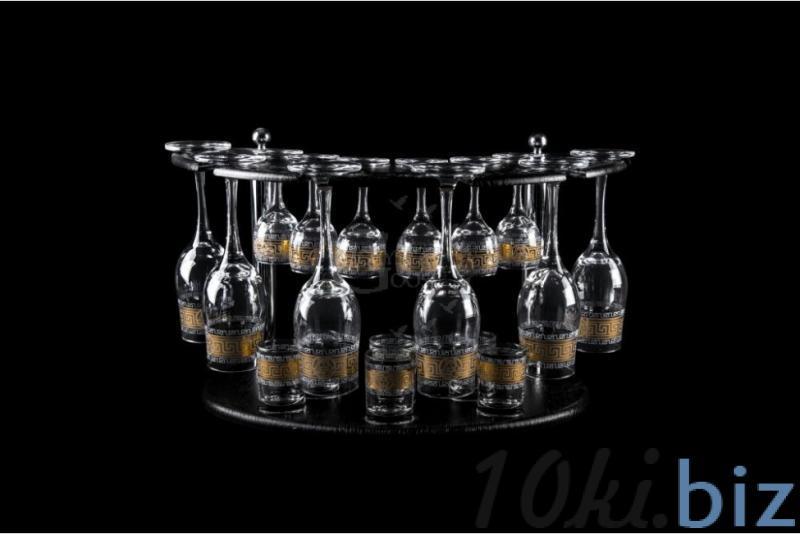 Барная стойка из 18 предметов: Бокал, рюмка, стопка. Медальон Наборы для бара в России