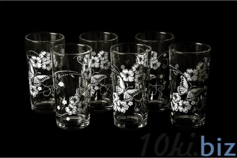 """Набор стаканов """"Ода"""". Белые бабочки Стаканы в России"""