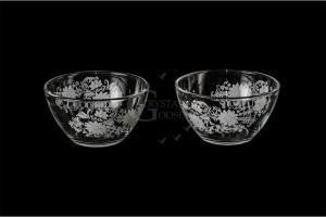 Фото Салатники Набор из двух маленьких салатников. Белые цветы