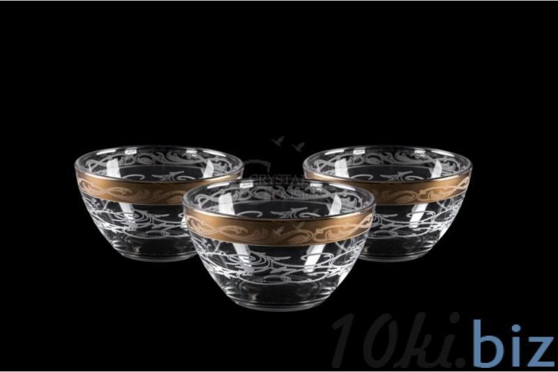 Набор из трех маленьких салатников. Вдохновение купить в Гусь-Хрустальном - Салатницы с ценами и фото