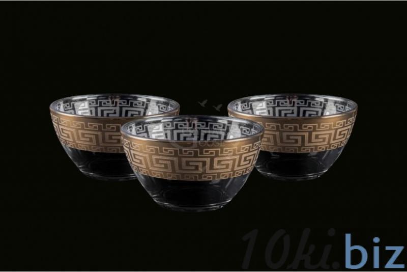 Набор из трех маленьких салатников. Греческий купить в Гусь-Хрустальном - Салатницы с ценами и фото