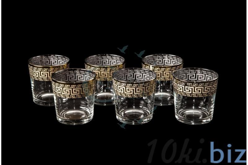 """Набор стаканов """"Ода"""". Греческий купить в Гусь-Хрустальном - Стаканы с ценами и фото"""