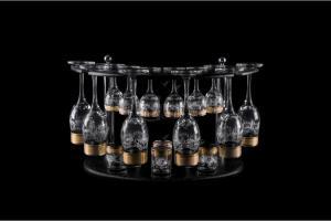Фото Барные стойки Барная стойка из 18 предметов: Бокал, рюмка, стопка. Барокко
