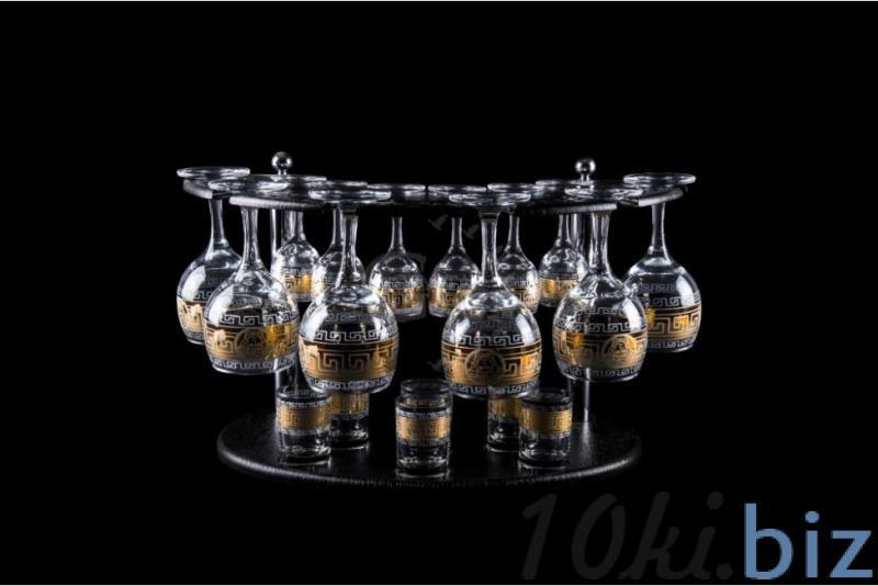 Барная стойка из 18 предметов: Фужер, рюмка, стопка. Медальон Наборы для бара в России