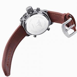 Фото Часы Часы Amst 3003 Wrangler, коричневый ремешок