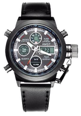 Часы Amst 3003 Wrangler, черный ремешок