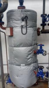 Фото  Быстросъемная теплоизоляция для запорной арматуры и оборудования