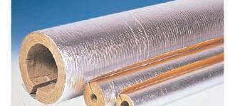 Цилиндры базальтовые теплоизоляционные (с покрытием фольгой и без покрытия)