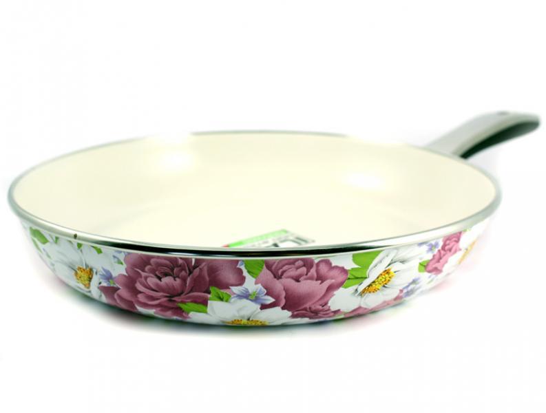 Сковорода Интерос с керамическим покрытием Пион 26 см