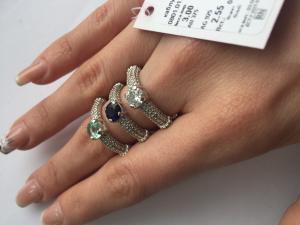 Фото Серебро со вставками золота, Кольца кольцо 0801