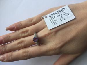Фото Серебро со вставками золота, Кольца кольцо 0822