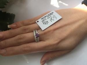 Фото Серебро со вставками золота, Кольца кольцо 0835