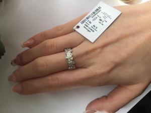 Фото Серебро со вставками золота, Кольца кольцо 0836