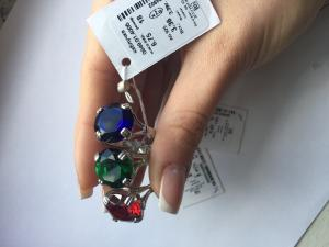 Фото Серебро со вставками золота, Кольца кольцо 0849