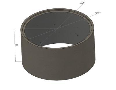 Кольца стеновые цилиндрические вибропрессованные (КС7 - КС30)