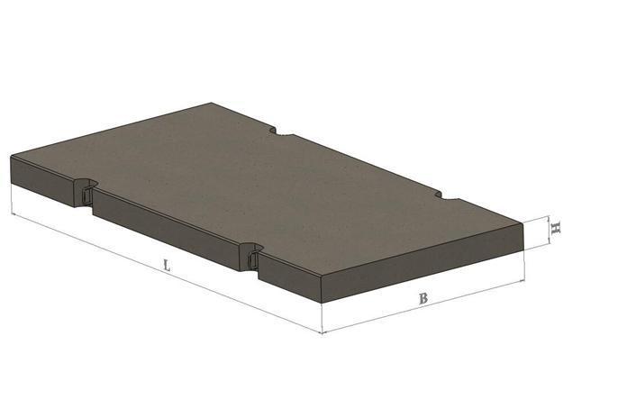Плиты аэродромных и дорожных покрытий (1ПП, 2ПП, ПДН, ПАГ)