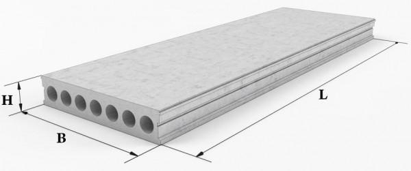 Плиты железобетонные безпетельные 2ПТМ 1,2м (длинна 2,4м - 9,0м)